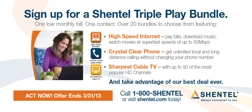 Shentel Always Connected To You Gkv