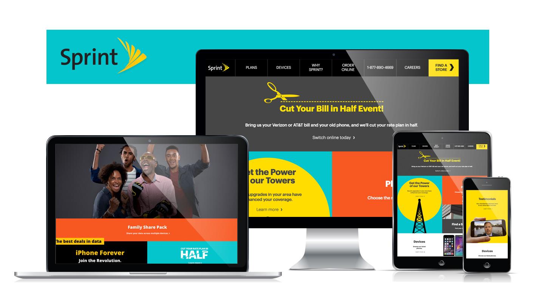Sprint Website