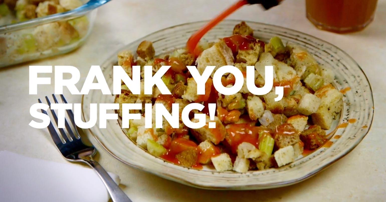 Frank you, stuffing! #Franksgiving
